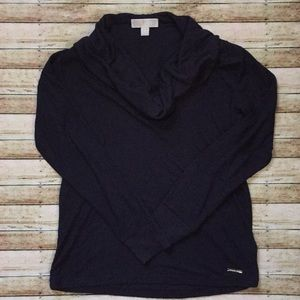 Michael Kors Cowlneck Long Sleeve Top